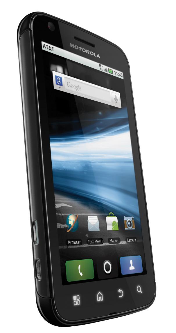 Motorola ATRIX front view